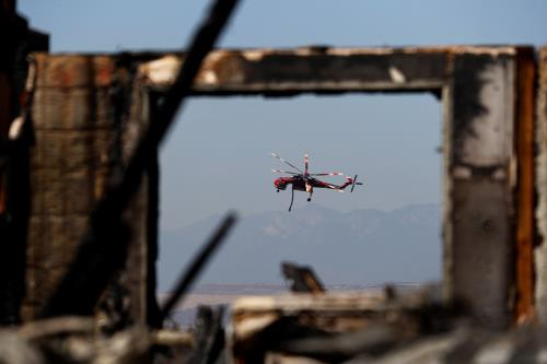 O.C. gets grant for fire-spotting plane