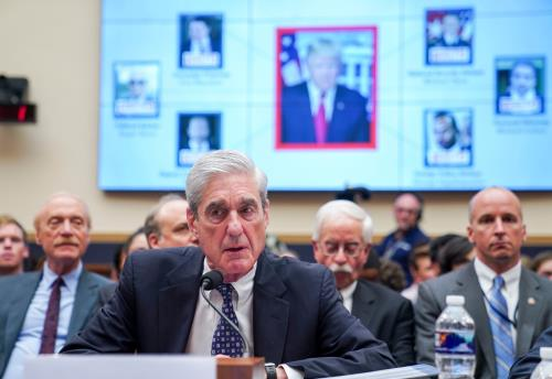 Trump not exonerated, Mueller says