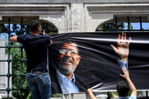 Morsi's demise puts the Islamists back in spotlight