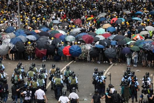 Clashes in Chinese territory escalate over bill