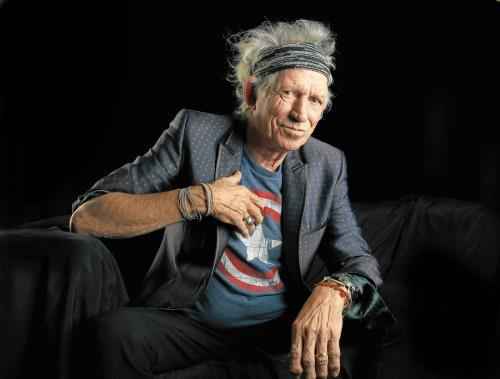 Keith Richards, 'ducking, diving'