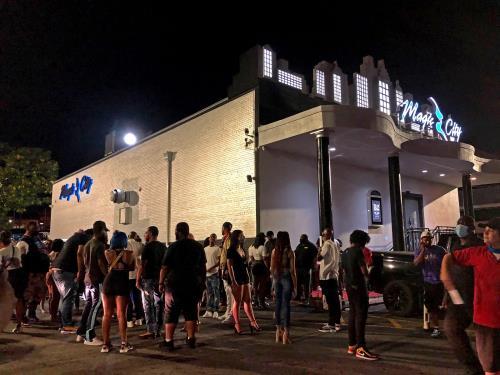 The beat goes on at Atlanta strip club